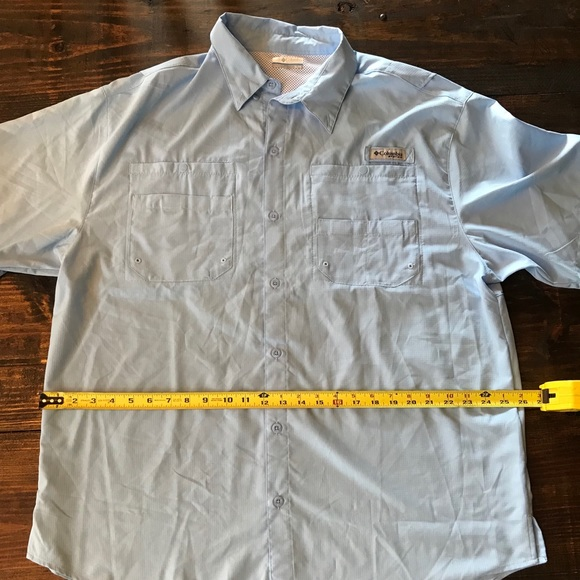 47d440db Columbia Shirts | Mens Pfg Fishing Shirt New Xl | Poshmark
